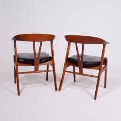 Torbjorn Afdal Pair arm chairs by Torbjorn Afdal for Bruksbo - 1862411