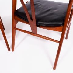 Torbjorn Afdal Pair arm chairs by Torbjorn Afdal for Bruksbo - 1862412