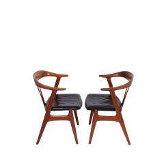 Torbjorn Afdal Pair arm chairs by Torbjorn Afdal for Bruksbo - 1862414