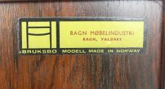 Torbjorn Afdal Scandinavian Modern Bar Cabinet Designed by Torbjorn Afdal - 1146366