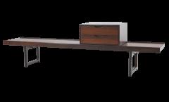 Torbjorn Afdal Scandinavian Modern Rosewood Bench Coffee Table by Torbjorn Afdahl - 2132468