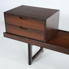 Torbjorn Afdal Scandinavian Modern Rosewood Bench Coffee Table by Torbjorn Afdahl - 2132470