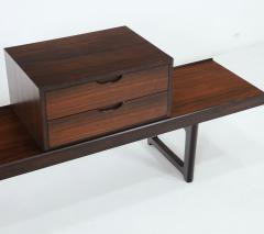 Torbjorn Afdal Scandinavian Modern Rosewood Bench Coffee Table by Torbjorn Afdahl - 2132471