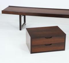 Torbjorn Afdal Scandinavian Modern Rosewood Bench Coffee Table by Torbjorn Afdahl - 2132472