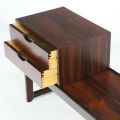 Torbjorn Afdal Scandinavian Modern Rosewood Bench Coffee Table by Torbjorn Afdahl - 2132473