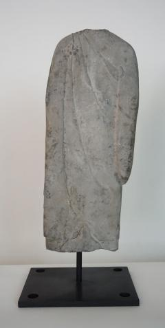 Torso of a Standing Buddha Northern Qi to Sui Dynasty - 1554105