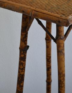 Tortoise Shell Bamboo Plant Stand - 1077800