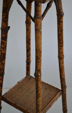 Tortoise Shell Bamboo Plant Stand - 1077801