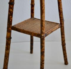 Tortoise Shell Bamboo Plant Stand - 1077802