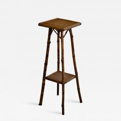 Tortoise Shell Bamboo Plant Stand - 1078838