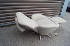 Toshiyuki Kita Dodo Reclining Lounge Chair by Toshiyuki Kita for Cassina - 2030971