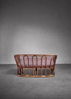 Tove Edvard Kindt Larsen Kindt Larsen bamboo and cane sofa Denmark - 1208959
