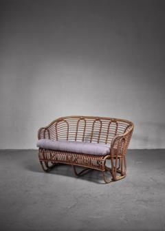 Tove Edvard Kindt Larsen Kindt Larsen bamboo and cane sofa Denmark - 1208962