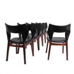 Tove Edvard Kindt Larsen Set of six dining chairs Tove Edvard Kindt Larsen for Torald Madsen 1960 - 1116036