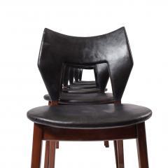 Tove Edvard Kindt Larsen Set of six dining chairs Tove Edvard Kindt Larsen for Torald Madsen 1960 - 1116038
