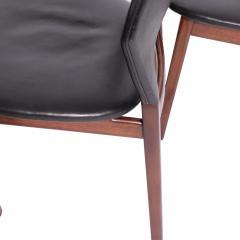 Tove Edvard Kindt Larsen Set of six dining chairs Tove Edvard Kindt Larsen for Torald Madsen 1960 - 1116039