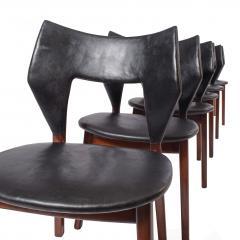 Tove Edvard Kindt Larsen Set of six dining chairs Tove Edvard Kindt Larsen for Torald Madsen 1960 - 1116040