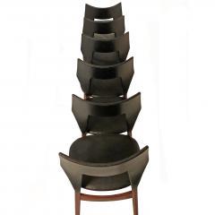 Tove Edvard Kindt Larsen Set of six dining chairs Tove Edvard Kindt Larsen for Torald Madsen 1960 - 1118163