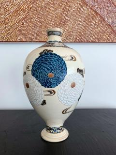 Tozan I Ito Japanese Ceramic Vase Meiji Period - 1018479