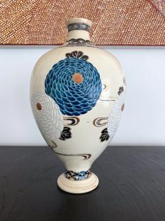 Tozan I Ito Japanese Ceramic Vase Meiji Period - 1018480