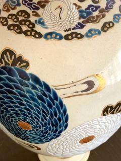 Tozan I Ito Japanese Ceramic Vase Meiji Period - 1018486
