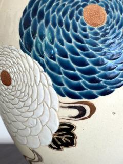 Tozan I Ito Japanese Ceramic Vase Meiji Period - 1018491