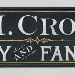 Trade Sign Mrs L M Crosswell Millinery and Fancy Goods - 71124