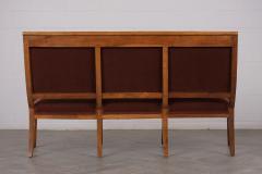 Traditional Circa 1830 French Empire Velvet Sofa - 1039112