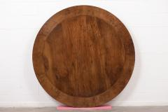 Traditional Empire Style Burl Wood Venners Round Dining Center Table - 1038178