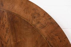 Traditional Empire Style Burl Wood Venners Round Dining Center Table - 1038183