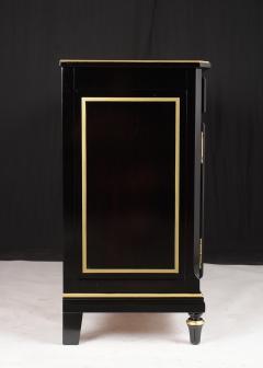 Traditional Louis XVI Style French Ebonized Finish Buffet - 1202041