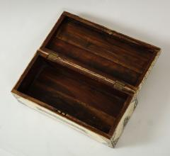 Traditional Pen Ink Decorated Bone Box - 1831101