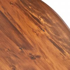 Traditional Round Mahogany Pedestal Dining Table - 1615016