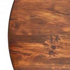 Traditional Round Mahogany Pedestal Dining Table - 1615017