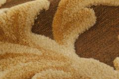 Traditional Savonnerie Inspired Hig Low Rug - 1113164