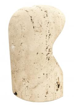 Travertine Table Lamp Italy 1970s - 1108153