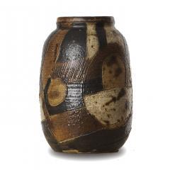 Trille J rgensen Exquisitel Textured Vase with Abstract Geometric Design - 1236180