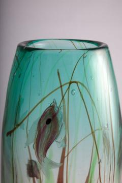 Tropical Fish Vase by Barbini - 775315