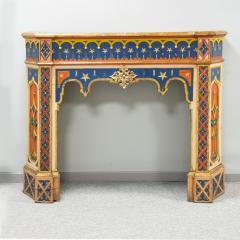 Troubadour fireplace mantelpiece - 1820330