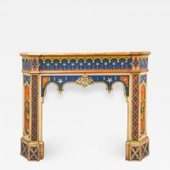 Troubadour fireplace mantelpiece - 1821636