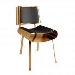 Troy Smith 21ST CENTURY CONTEMPORARY SOLID METAL HAND MADE DINING CHAIR BY TROY SMITH - 942903