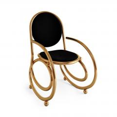 Troy Smith 21ST CENTURY CUSTOM MADE CONTEMPORARY ONE OF A KIND SPRING CHAIR WITH ARMS - 942842