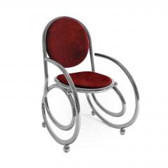 Troy Smith 21ST CENTURY CUSTOM MADE CONTEMPORARY ONE OF A KIND SPRING CHAIR WITH ARMS - 942843