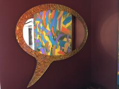 Troy Smith 21st Century Contemporary Handmade Mirror by Artist Troy Smith Artist Proof - 989901