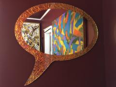 Troy Smith 21st Century Contemporary Handmade Mirror by Artist Troy Smith Artist Proof - 989903