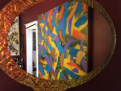 Troy Smith 21st Century Contemporary Handmade Mirror by Artist Troy Smith Artist Proof - 989904