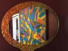 Troy Smith 21st Century Contemporary Handmade Mirror by Artist Troy Smith Artist Proof - 989905