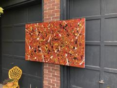 Troy Smith ACRYLIC PAINTING BY ARTIST TROY SMITH 36 X 60 CONTEMPORARY ART ABSTRACTION - 1065117