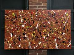 Troy Smith ACRYLIC PAINTING BY ARTIST TROY SMITH 36 X 60 CONTEMPORARY ART ABSTRACTION - 1065119