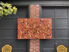 Troy Smith ACRYLIC PAINTING BY ARTIST TROY SMITH 36 X 60 CONTEMPORARY ART ABSTRACTION - 1065121